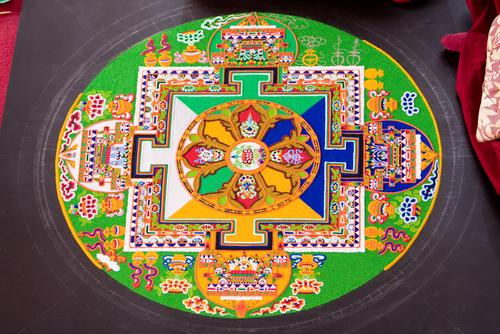 Los mandalas tibetanos y su significado