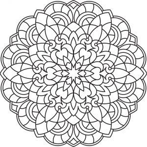 Mandalas tibetanos para pintar