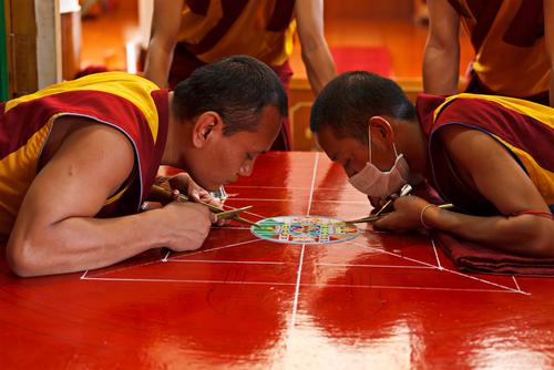 tipos de mandalas tibetanos