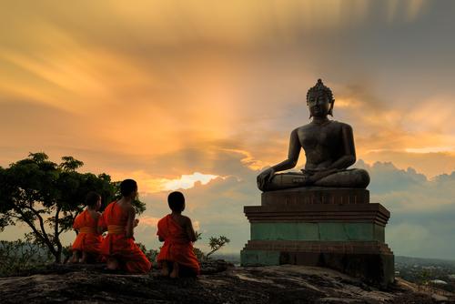 Meditación budista tibetana