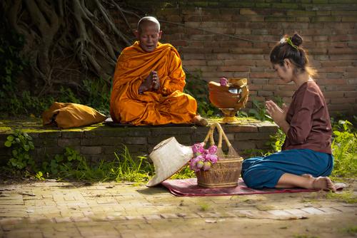 Técnicas de meditación budista