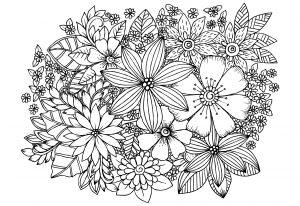 Zentangle art para colorear