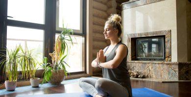 como decorar una habitacion para meditar