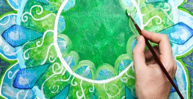 ¿Cómo pintar mandalas?