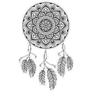 Mandala atrapasueños