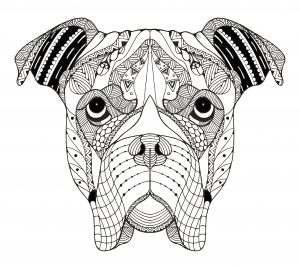 Mandala de perro
