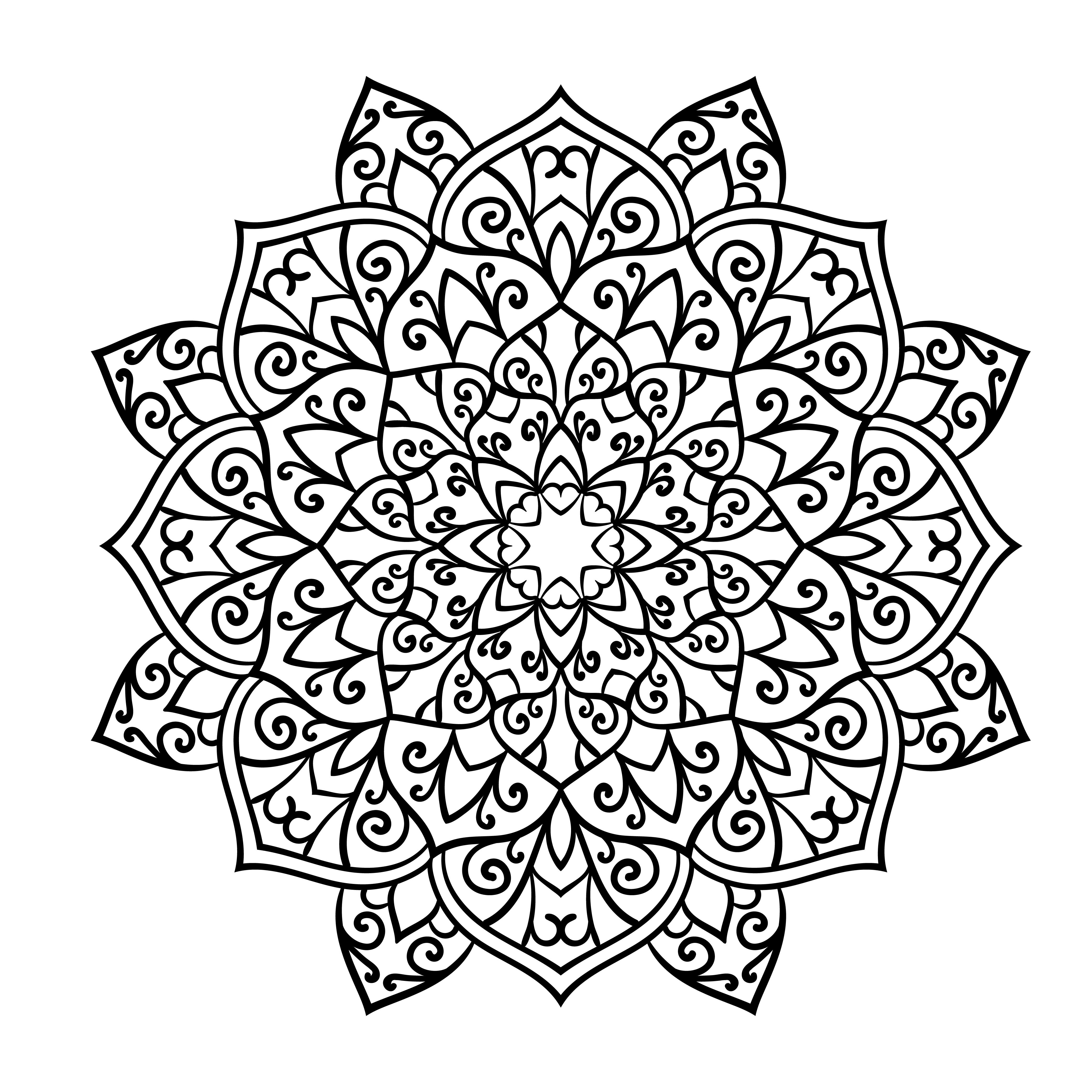Los Mejores Diseños De Mandalas De Flores Debudanet
