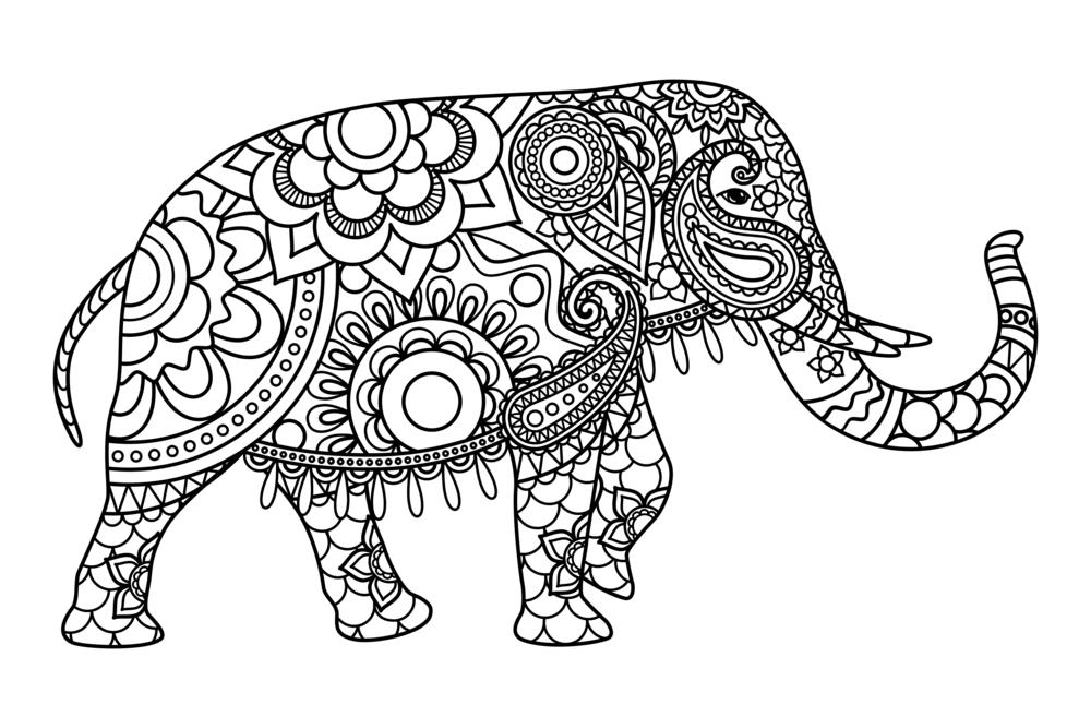 Los Mejores Mandalas De Elefantes Debudanet