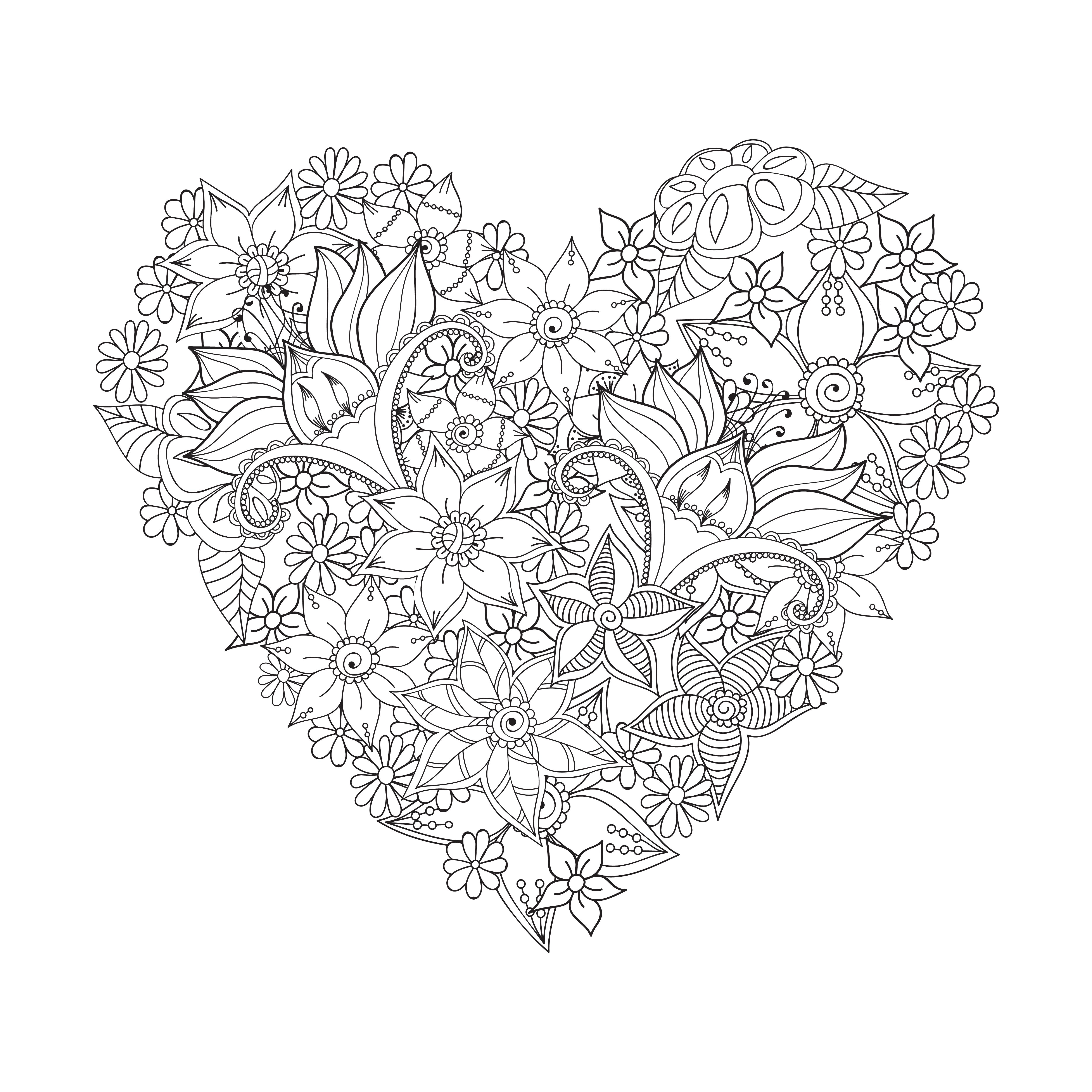 ▷ Mandalas de amor | DEBUDA.NET