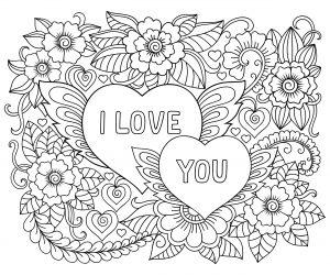 mandalas de amor para pintar