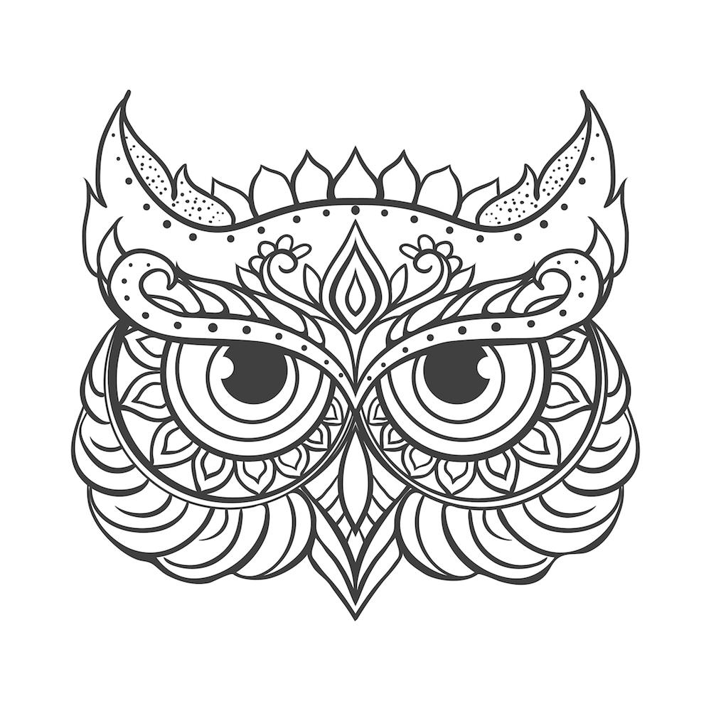 Mandalas De Búhos Y Su Significado Debudanet
