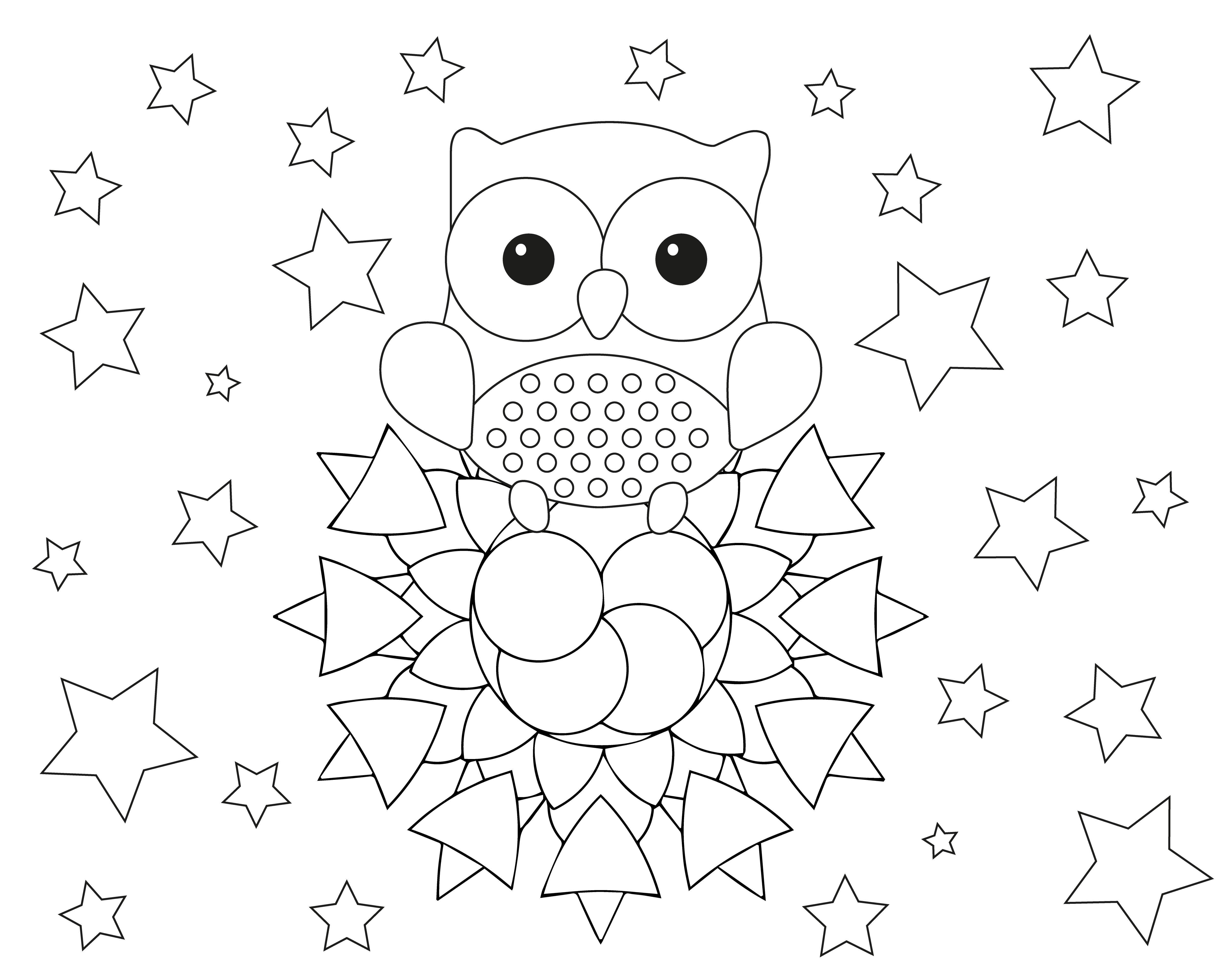 Dibujos De Mandalas Para Colorear Para Ninos: Mandalas Infantiles Para Colorear