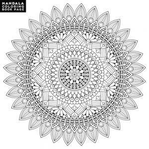 Mandalas geométricos imprimir