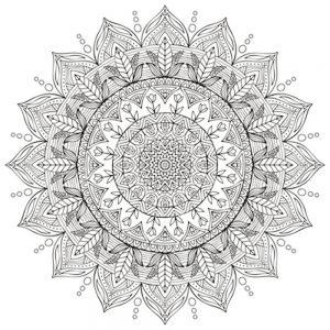 Mandalas geométricos infantiles