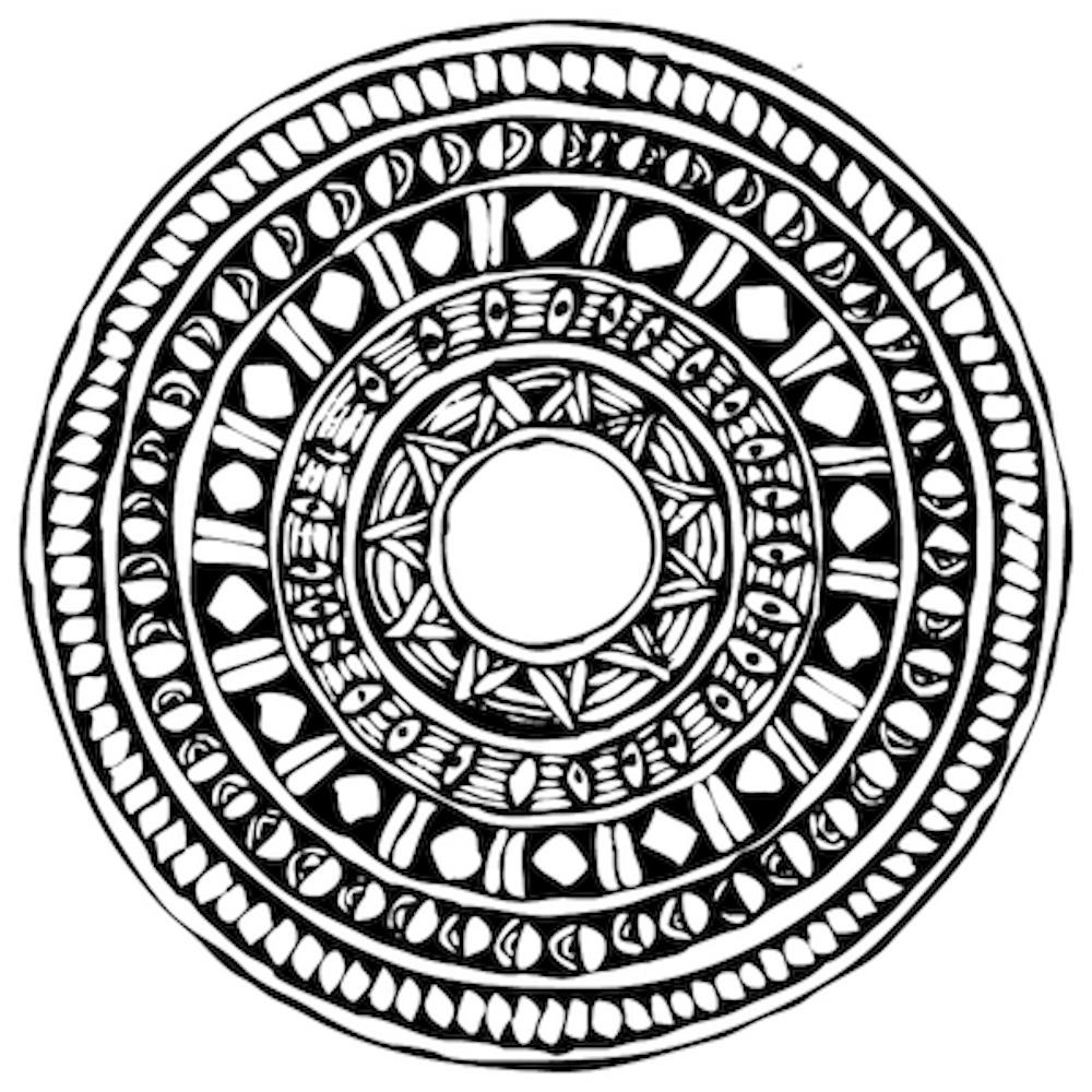 ▷ Mandalas geométricos para imprimir y colorear | DEBUDA.NET