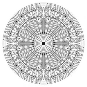 Mandalas geométricos para imprimir 13.18.17
