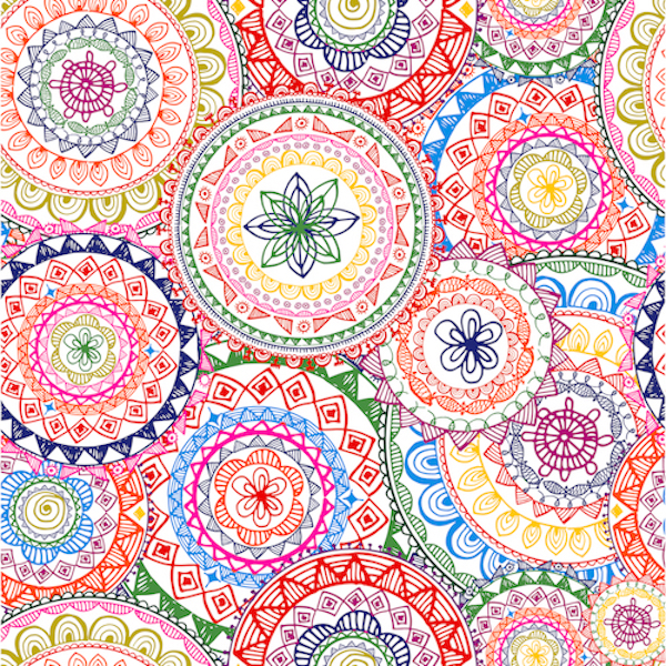 Mandalas geométricos