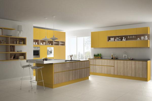 color en una cocina feng shui