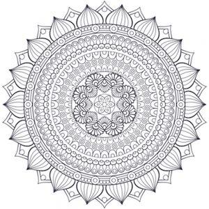 dibujos de Mandalas geométricos 13.18.15