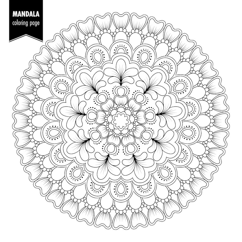 Mandalas para colorear y relajarte | DEBUDA.NET
