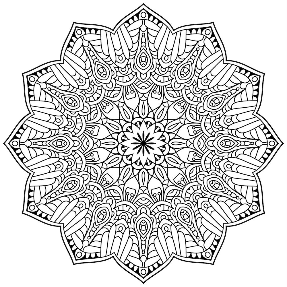 Mandalas Para Colorear Y Relajarte Debuda Net