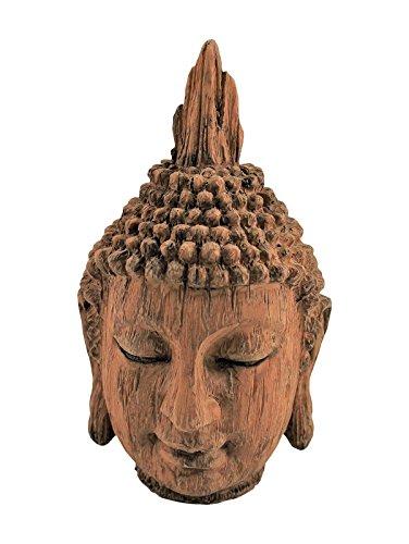 cabeza de buda decoración